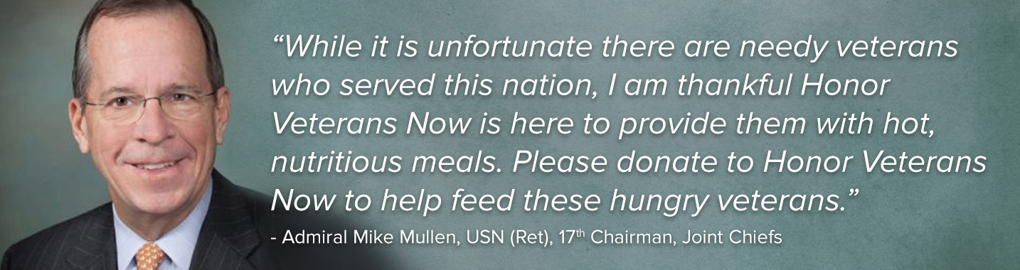 Our Vision and Mission – Meals for Vets | MealsForVets org